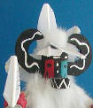 Blue Ahote kachina doll