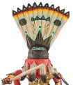 Apache dancer kachina doll