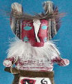 Badger dancer kachina doll