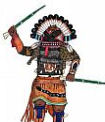 Broadface kachina doll