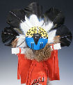 Chief kachina doll