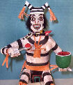 Koshari Clown Dancer kachina doll