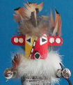 Spotted Corn kachina doll
