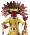 Medicine Man kachina doll
