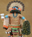 Morning Singer kachina doll