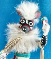 Mouse Dancer kachina doll