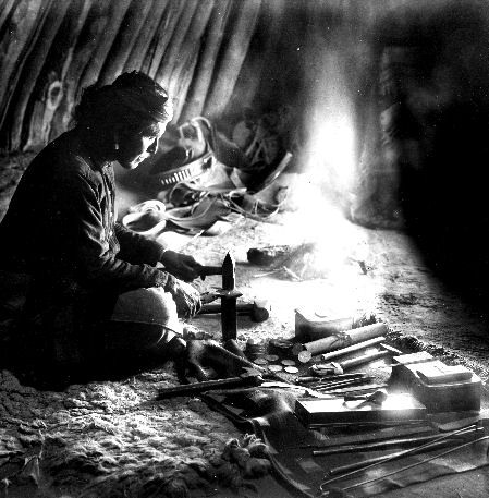 How Early Native American Silver Jewelry Was Made