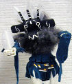 Road Runner kachina doll