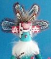 Snow Dancer kachina doll