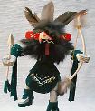 Warrior Dancer kachina doll