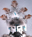White Cloud kachina doll