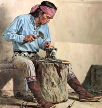 American Indian smith