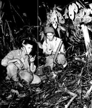 Navajo Code-Talkers during World War II