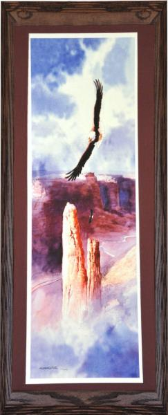 Gallery Edition of Guardian of Spider Rock by Mark Silversmith