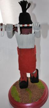 Apache Peacemaker Kachina Doll