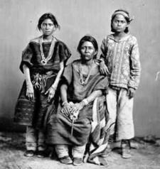native american indian family-wearing jewelry