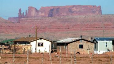Navajo Reservation Houses