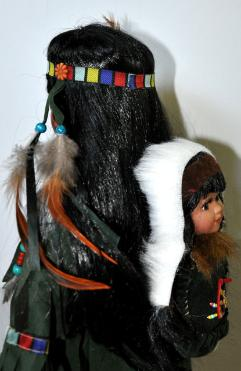 Sacagawea Doll With Papoose