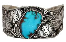 silver turquoise Indian jewelry